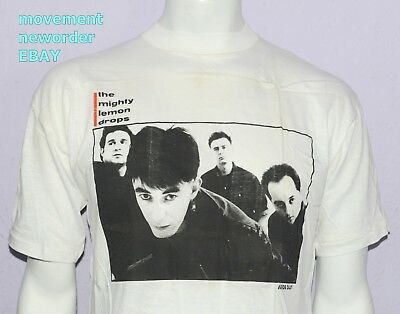*UNWORN* Vintage The Mighty Lemon Drops February 1988 UK TOUR t shirt LARGE C86