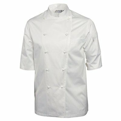 Chef obras A915 – 44 Capri Executive Chef Jacket, tamaño 44, color blanco