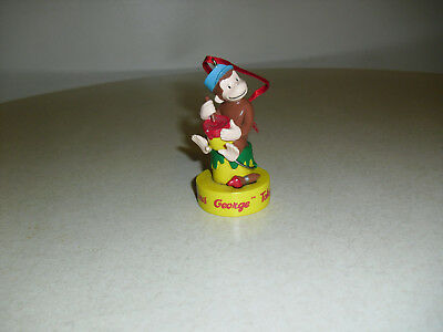Curious George Takes A Job Hanging Christmas Tree Ornament
