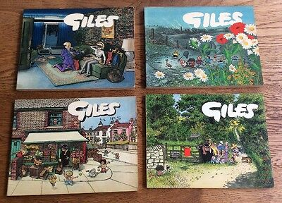 GILES BOOKS - 1970s - 25th, 26th, 28th, 33rd SERIES - PAPERBACK X 4