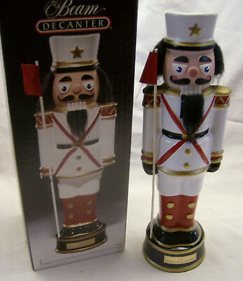Nutcracker Soldier Decanter made by Regal China in 1991 with box