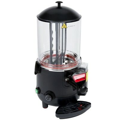 Commercial 2.6 Gal Choco Hot Chocolate Machine Beverage Dispenser Cacao black