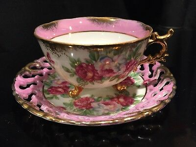 Tea Cup and Saucer Castle Japan