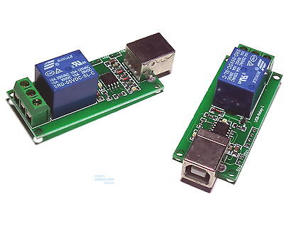 5V USB Relay 1 Channel Programmable Computer Control For Smart Home - UK seller