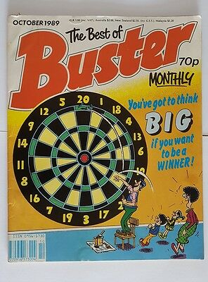 The best of Buster monthly October 1989