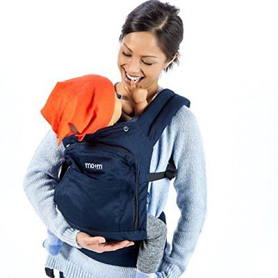 Mo+m Baby Carrier Yellow Soft Structured Sling w// Cooling Vent Hood /& Pockets