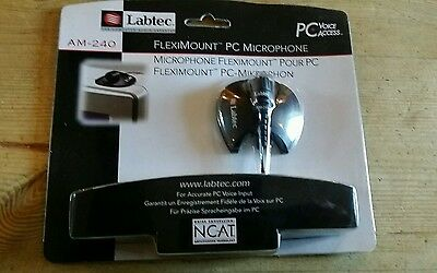 Labtec Fleximount AM-240 PC microphone New in original pack