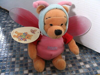 Disney Store Winnie The Pooh Easter Dragonfly 2001  Beanbag Very Rare Brand New