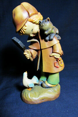 Anri Ferrandiz The Inspector Hand Carved Wooden 6 inch Figurine