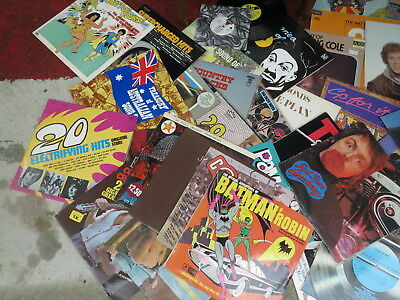 Vintage records 35 & 55 tapes   old Retro 50's