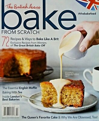 Bake From Scratch The British Issue 72 Recipes & Ways To Bake Like Brit 2017 NEW