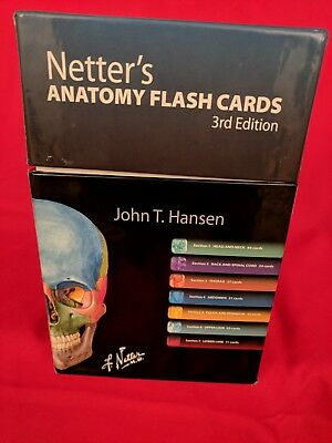 Barrons Anatomy Flash Cards 2nd Edition 1250 Picclick