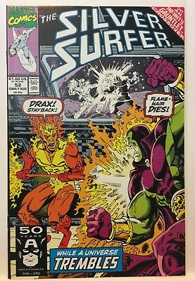 SILVER SURFER #52  (August 1991) Infinity Gauntlet Crossover Marvel Comics NM