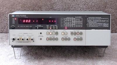 HP 4262A 3-Frequency Digital LCR Meter - Working & Accurate - HAM