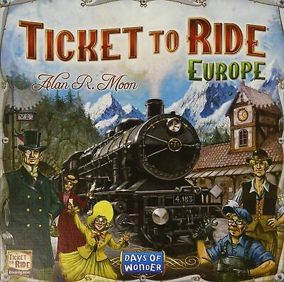 Ticket to Ride Europe- NEW Board Game - AUS Stock