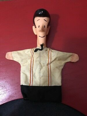 1960's Dennis The Menace Hand Puppet Mr. Mitchell