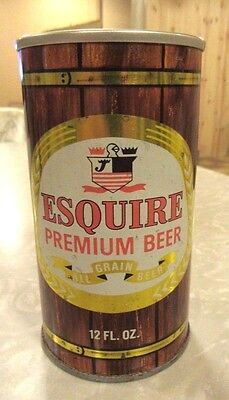 Straight Steel Esquire Premium Beer Can Pull Tab Bottom Open