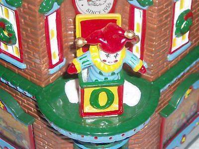"""D56 SV """"Kringle's Toy Shop"""" and """"Hot Chocolate Shop"""" set of 8"""