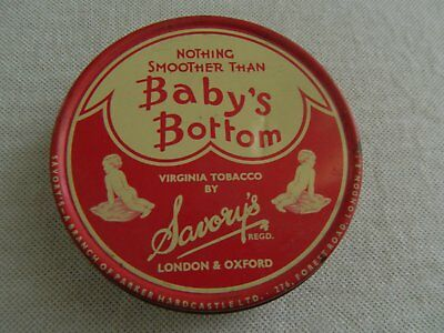 OLD  BABY'S  BOTTOM  1oz  TOBACCO TIN