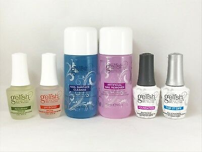 "Harmony Gelish pH Bond, Foundation, Top, Nourish, Cleanse, Remover '""Pick Yours"""