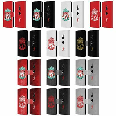 Official Liverpool Football Club Crest 1 Pu Leather Book Case For Sony Phones 1