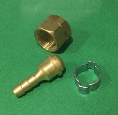 Bossweld Crimp Connector Kit for 5mm LH (Fuel)