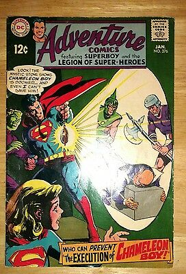 Adventure Comics # 376 Fine/VF Cond.