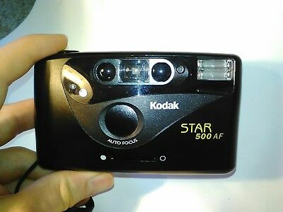 Kodak Star 500 AF 35mm Point and Shoot Compact Film Camera *Good Condition