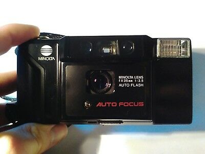 Minolta AF-E 35mm AF Point and Shoot Compact Film Camera *Excellent Condition