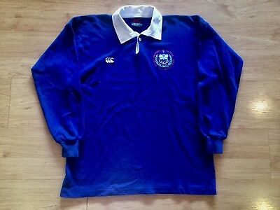 WESTERN SAMOA 90s VERY RARE RUGBY UNION VINTAGE CANTERBURY SHIRT JERSEY LARGE