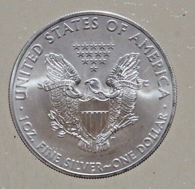 2013 SILVER DOLLAR -UNITED STATES-1 Oz of FINE SILVER--NO RESERVE