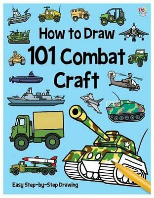 101 Combat Craft (How To Draw 101) by Green, Barry Book The Cheap Fast Free Post