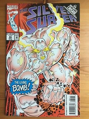 Silver Surfer 84 -  Thanos, Infinity Crusade, Ron Marz, Marvel