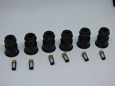 Racetune 6x 1/2 to 3/4 Length 14mm Adapter Injector Extension Bosch 2000cc E85