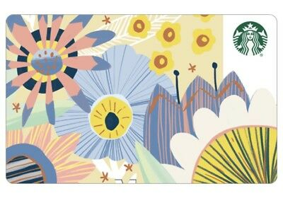Starbucks Korea 2018 Spring Card