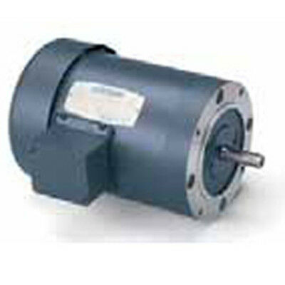LEESON ELECTRIC 110047; AC Motor 3/4HP AC 1800 RPM Three Phase 56C TEFC