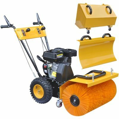 Multifunctional Petrol-powered Two-stage Snow Thrower Blower Remover 6.5 HP
