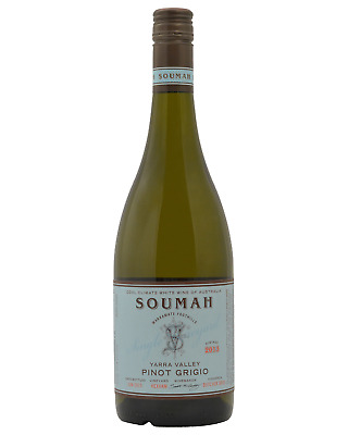 Soumah Hexham Single Vineyard Pinot Grigio case of 12 Dry White Wine 750mL
