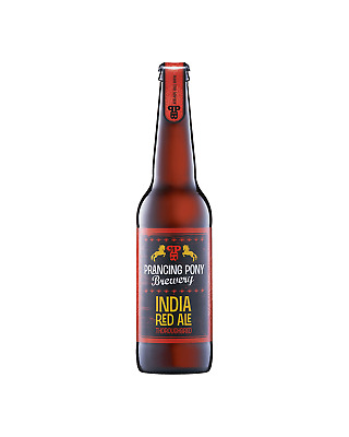 Prancing Pony Brewery India Red Ale Bottles 330mL case of 24 Craft Beer