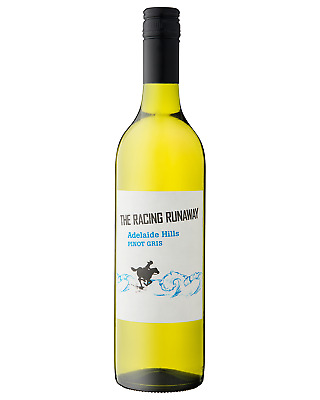 The Racing Runaway Pinot Gris case of 6 Dry White Wine 750mL Adelaide Hills