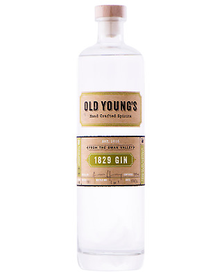 Old Youngs 1829 Gin 700mL case of 6 Swan Valley