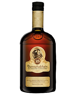 Bunnahabhain Single Malt Scotch Whisky 25 Year Old 700mL bottle