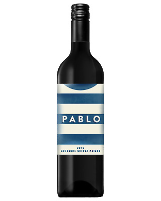 Pablo Grenache Shiraz Mataro bottle Dry Red Wine 750mL