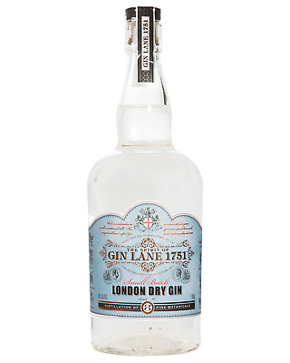 Gin Lane 1751 London Dry Gin 700mL case of 6
