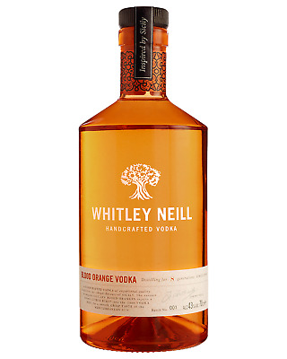 Whitley Neill Blood Orange Vodka 700mL bottle