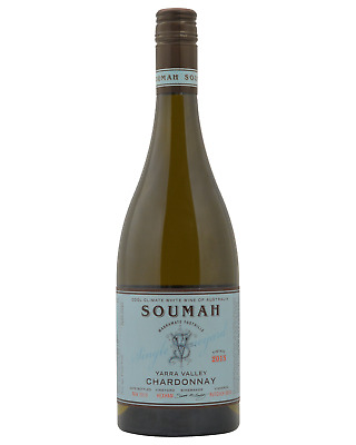 Soumah Hexham Single Vineyard Chardonnay bottle Dry White Wine 750mL