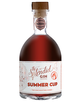 The Splendid Gin Summer Cup 700mL case of 6