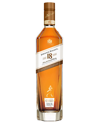 Johnnie Walker 18 Year Old Blended Scotch Whisky 700mL case of 6 Blended Whisky