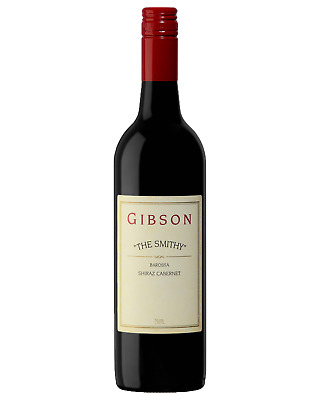 Gibson The Smithy Shiraz Cabernet 2015 case of 12 Wine 750mL Barossa Valley