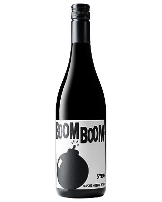 Charles Smith Boom Boom Syrah case of 6 Dry Red Wine 750mL
